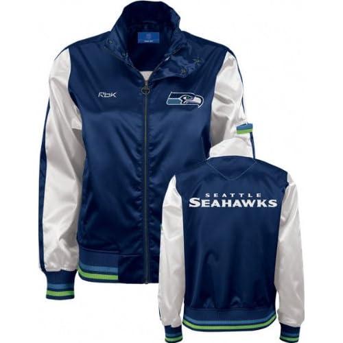 seattle seahawks s navy cheer jacket