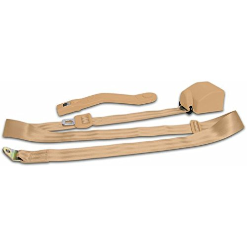 AutoLoc 12686 Peach 3-Point Retractable Seat Belt