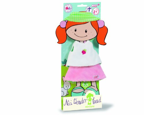 Neat-Oh Nici Wonderland Shirt Skirt and Hair Ribbon Set for 30cm Doll Plush - 1