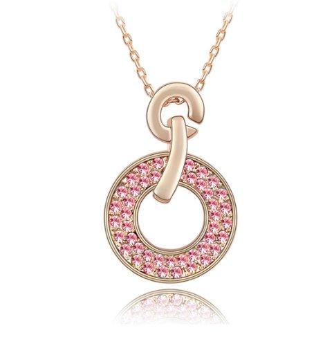 Boxingcat Fine Jewelry Swarovski Style Clear Austrian Crystal Pendant Necklaces Bgca2885 front-787287