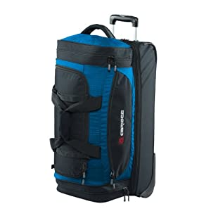Scarecrow Dx 70cm Rolling Luggage Wheeled Holdall Rolling Duffel Atomic Blue