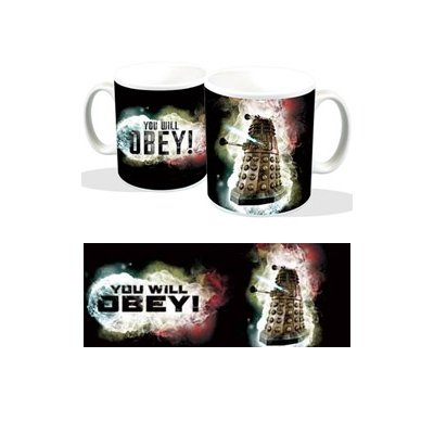 Doctor Who Tazza Mug Dalek You Will Obey Titan Merchandise