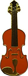 Violin - Brown Fiddle - Enamel Pin