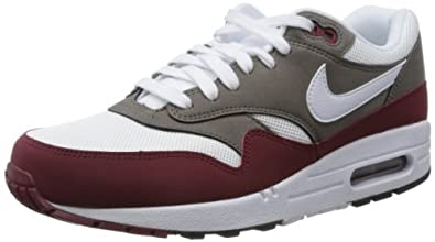 Nike Air Max 1 Essential Mens Running Shoes 537383-612 Team Red 9 M US