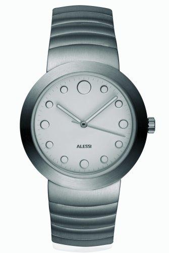 Alessi - AL16000 - Montre Homme - Quartz - Analogique - Bracelet Acier Inoxydable Argent