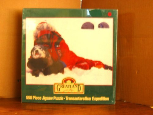 Greatland Transantarctica Expedition 550 Piece Jigsaw Puzzle - Will and His Dog