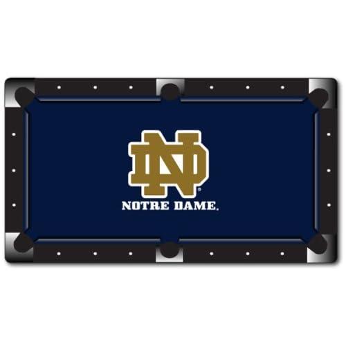 Amazon.com : University of Notre Dame Pool Table Felt - 8 Foot Table