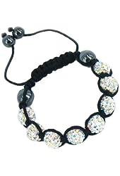 Shamballa Inspired 10mm Crystal Shining Beads Kids Children Bracelets Crystal AB