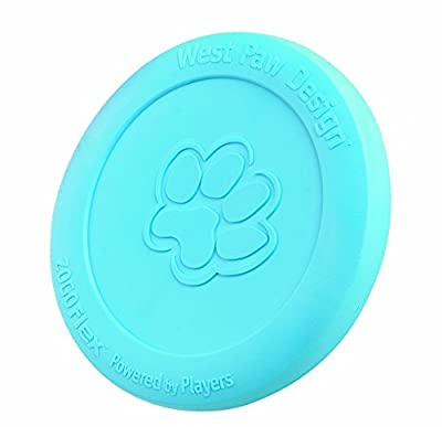 West Paw Design Zogoflex Zisc Guaranteed Tough Flying Disc Dog Play Toy