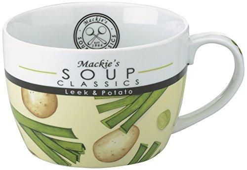 Mackie de soupe Classics et de pomme de terre poireau Tasse à soupe, multicolore