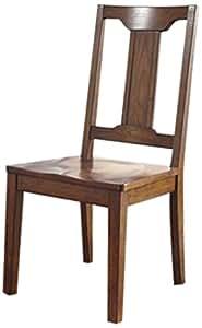 Chimerin Burnished Oak Dining Room Side Chair Set Of 2