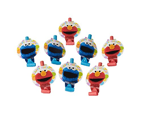 Sale!! Amscan Sesame Street Blowouts, 8 Count