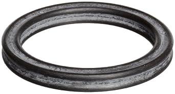 Buna O-Ring, 70A Durometer, Quad, Black