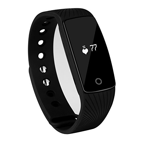 SUBA Heart Rate Monitor, Wirless Fitness Tracker, Smart Wristband with