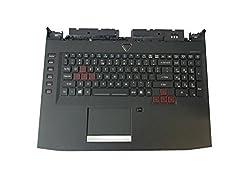 New Acer Predator 17 G9-791 G9-791G Laptop Upper Case Palmrest Keyboard 38 Touchpad