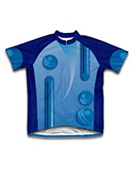 Google Balls Short Sleeve Cycling Jersey for Women