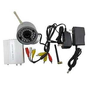 Wireless Security System Night Vision Outdoor Spy Surveillance Camera + Receiver