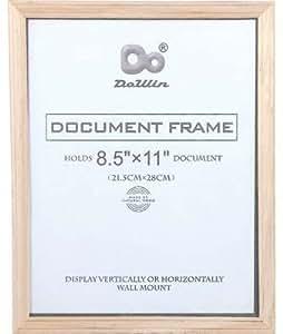 amazoncom bulk buys document frame 85 x 11 in case With 8 5 x 11 document frame bulk