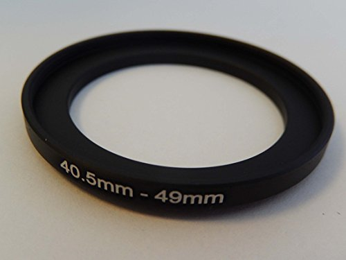 vhbw Step UP Filter-Adapter 40.5mm-49mm schwarz für Kamera Panasonic, Pentax, Ricoh, Samsung, Sigma, Sony, Tamron