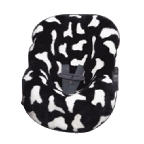 Ba Ba Seat Skins Universal Infant Seat Cover, Black Cow and White
