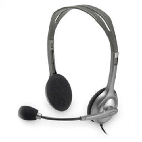 Headsetlogitech H110 Stereo Noise-Canceling Mic