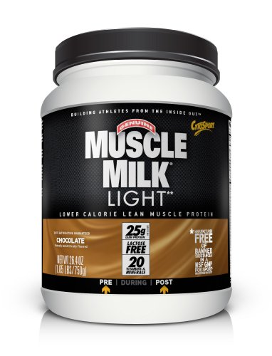 CytoSport Muscle Milk Light, Chocolate Milk, 1.65 Pound