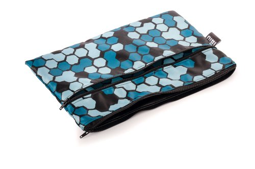Bumkins Nixi Poco Recycled Fabric Waterproof Clutch, Mica