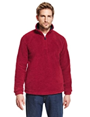 Blue Harbour Half Zip Fleece Top
