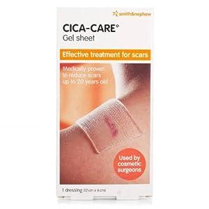 Cica-Care Silicone Gel Sheet 12cm X 6cm