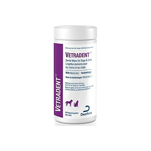 Vetradent Dental Wipes for Cats & Dogs (60 count)
