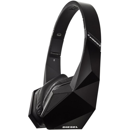 Diesel Vektr by Monster Headphones with ControlTalk (Black)