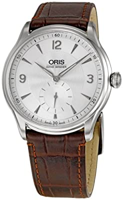 Oris Men's OR396-7580-4051LS Artelier Silver Dial Watch