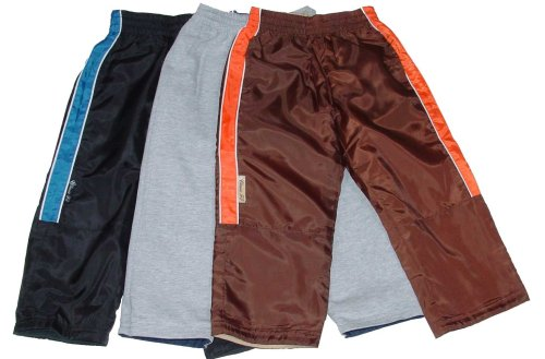 Little Boys' Windbreaker Reversible Pants