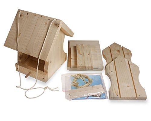 Vogelfutterhaus Welches Holz ~ Yakeba  Vogelfutterhaus Bausatz  Made in Germany