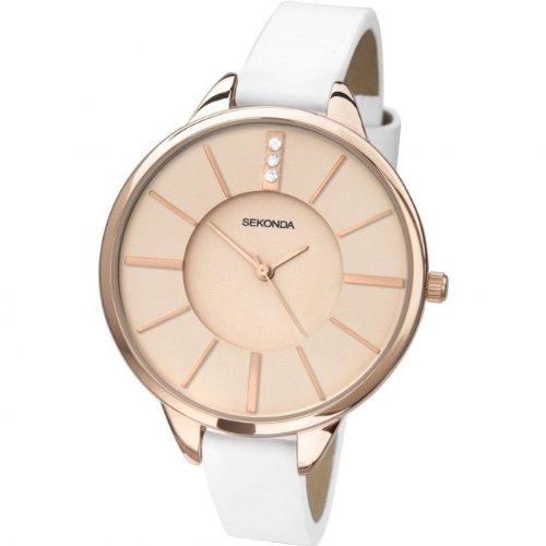 sekonda-ladies-editions-white-slim-strap-watch-with-rose-dial-4221