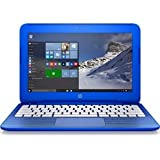 "HP 11-r010nr, Intel Celeron N3050, 11.6"" Blue Laptop With 2GB Memory, 32GB Storage, Windows 10"