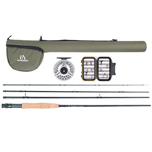 Maxcatch Explorer Fly Fishing Rod Combo Kit 5weight (5wt Rod Combo) (Fly Fishing Pole compare prices)