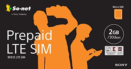 Prepaid LTE SIM プラン2G  MicroSIM版