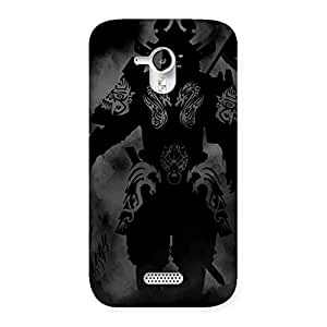 Ghost Warrior Back Case Cover for Micromax Canvas HD A116