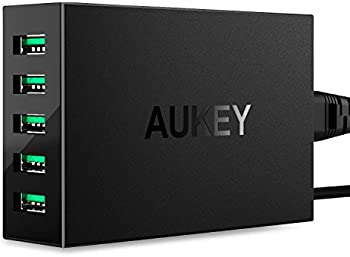 Aukey 50W/10A 5-Ports Apple iPhone Charger