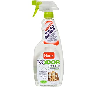 Hartz Nodor Litter Spray, Unscented, 17 fl oz