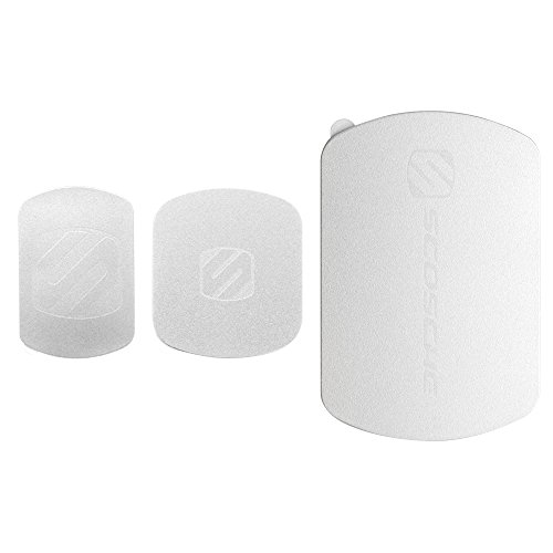 Scosche MagicMount Magnetic Mount Replacement Kit Silver