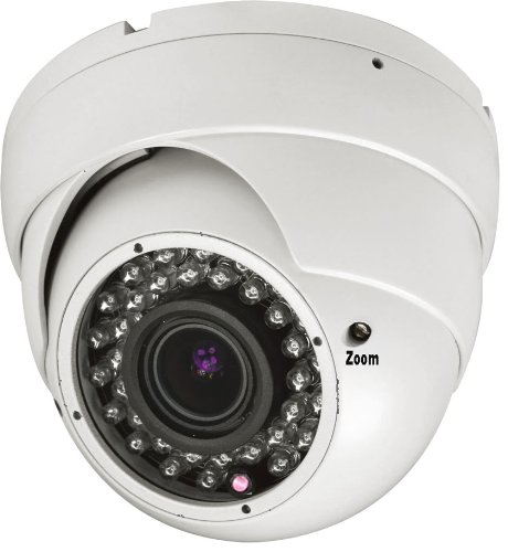"""Starview 700Tvl 1/3"""" Sony Ccd 2.8-12Mm Varifocal Lens 36Pcs Infrared Leds Night Vision Dome Camera For Cctv System"""