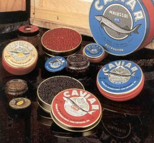 Beginners-Caviar-Sampler-Gift-Set-Bowfin-Whitefish-Salmon-Lumpfish-and-Capelin
