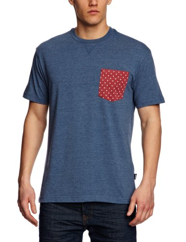 Addict Skulldot Pocket Printed Men's T-Shirt Athletic Blue Small