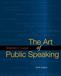The Art of Public Speaking with Media Ops Setup ISBN Lucas by Griffin Emory A