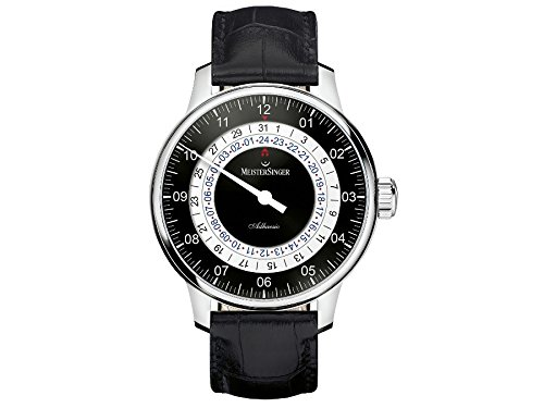 MeisterSinger reloj hombres automática Adhaesio AD902