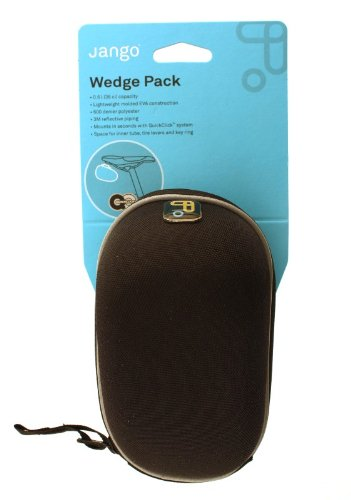 Topeak Jango Jb-Wb01 Bike Bicycle Wedge Pack Bike Seat Bag Jbwb01 With Adaptor For Standard Rail Seat With Quick Release Mount front-713299