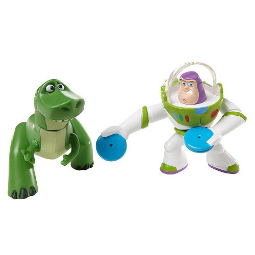 TOY STORY by DISNEY PIXAR, BUDDY PACK, REX AND DISC BUZZ LIGHTYEAR