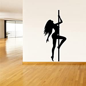 Wall decal vinyl sticker decor art bedroom - Sensual paintings for the bedroom ...